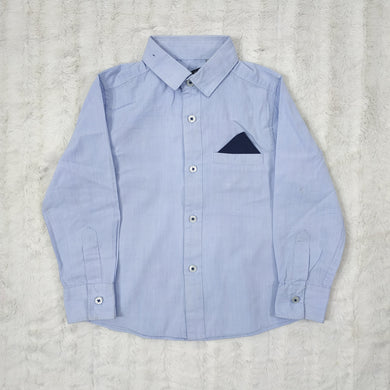 GEORGE BLUE SHIRT