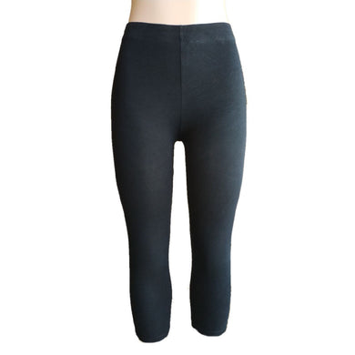 M&S Black Capri Leggings - okriks-market