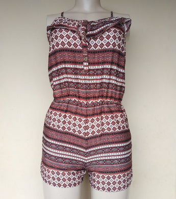 ATMOSPHERE PRINT ROMPER