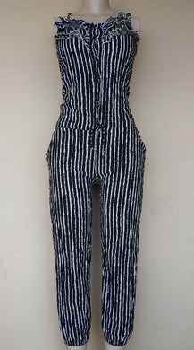 PRELOVED STRIPPED JUMPSUIT