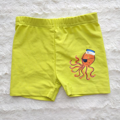 REBEL YELLOW BABY SWIM SHORTS - okriks-market