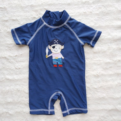 NEXT BLUE BABY ONE PIECE SWIMSUIT - okriks-market