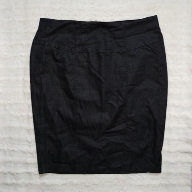 ONE AND HALF PENCIL WORK SKIRT