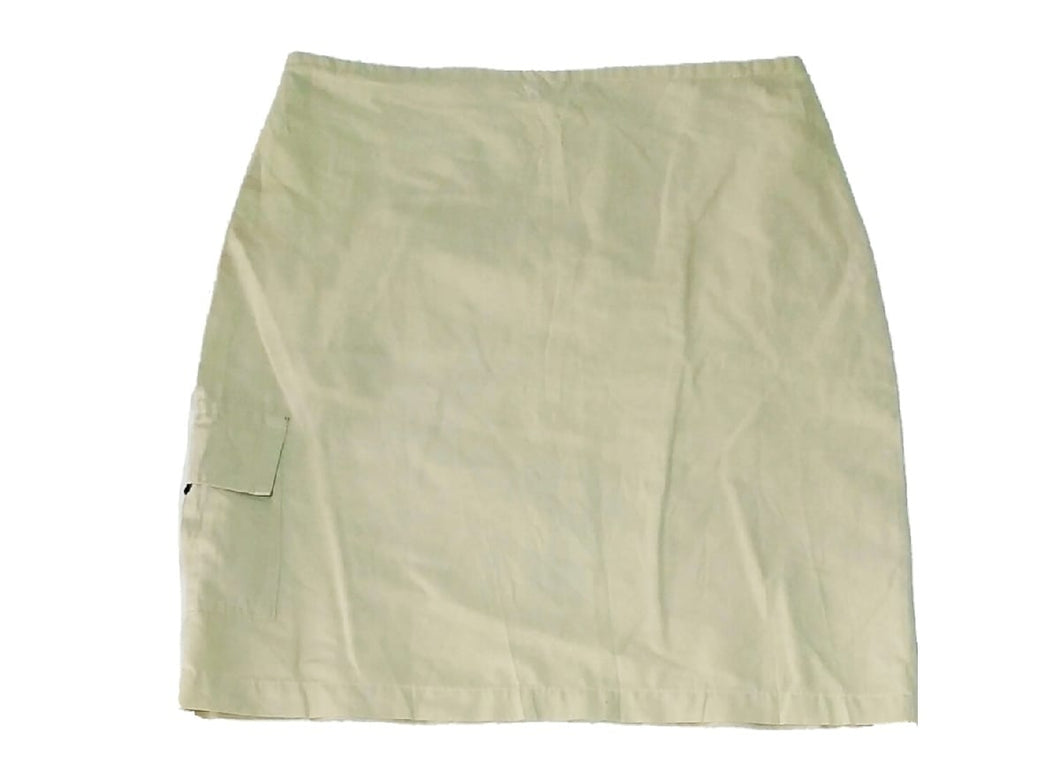 Mini Skirt With Back Zip And String - okriks-market