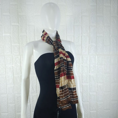 Multicoloured Satin Neck Scarf - okriks-market
