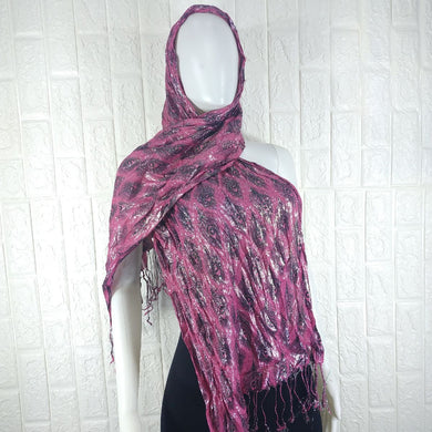 Two Colour Satin Neck Scarf - okriks-market