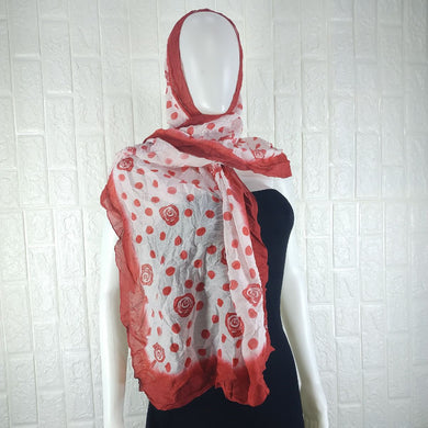 Two Colour Cotton Neck Scarf - okriks-market