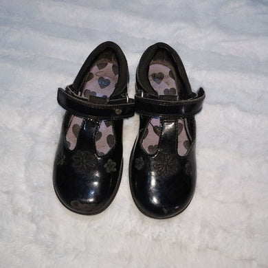 Black Baby Girl Shoe By Clarks - okriks-market
