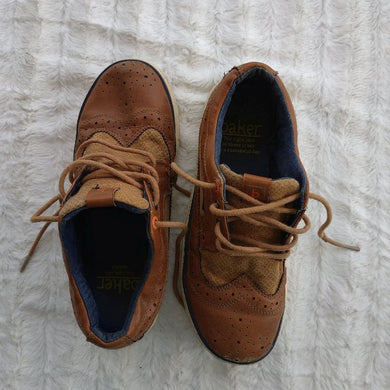 Baker Brown Lace Up Shoe - okriks-market