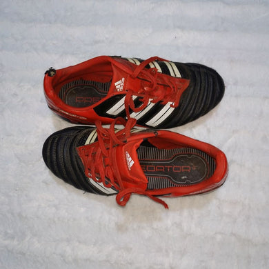 Red And Black Adidas Soccer Boot - okriks-market