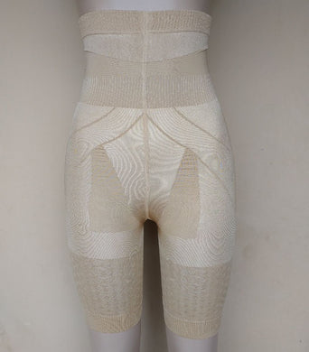 Brown High Waist Control Tights - okriks-market