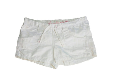 White Bump Shorts With Waist Strings - okriks-market