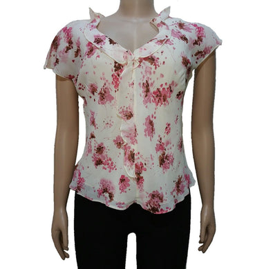 Floral Print Two Piece Top - okriks-market