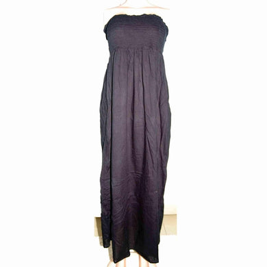 Black Tube Maxi Dress - okriks-market