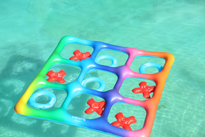 Rainbow Tic-Tac-Toe Floating Game
