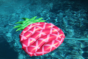 Sweet Pink Pineapple Pool Float