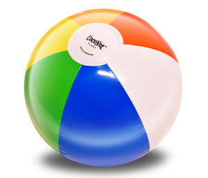 "Rainbow 12"" (12 pack) Beach Balls"