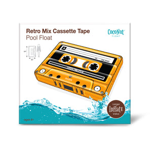 Retro Mix Cassette Tape Pool Float