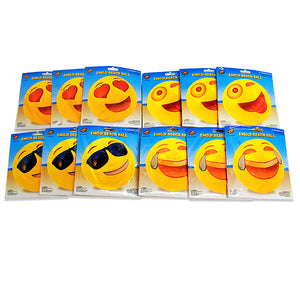 "Emoji 18"" (12 pack) Beach Balls"