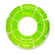 Lime Green Glitter Pool Float