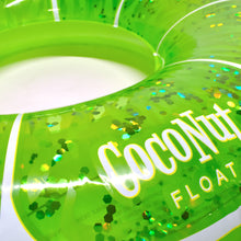 Load image into Gallery viewer, Lime Green Glitter Pool Float