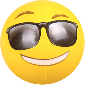 "Emoji Beach Ball 18"" Sunglasses"