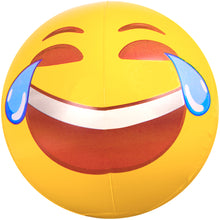 "Load image into Gallery viewer, Emoji Beach Ball 18"" Tears of Joy"