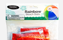 "Load image into Gallery viewer, Rainbow 12"" (12 pack) Beach Balls"