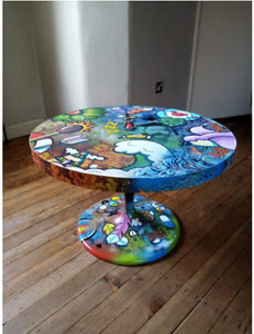 "Turn your home into a masterpiece with ""Art on Furniture"""