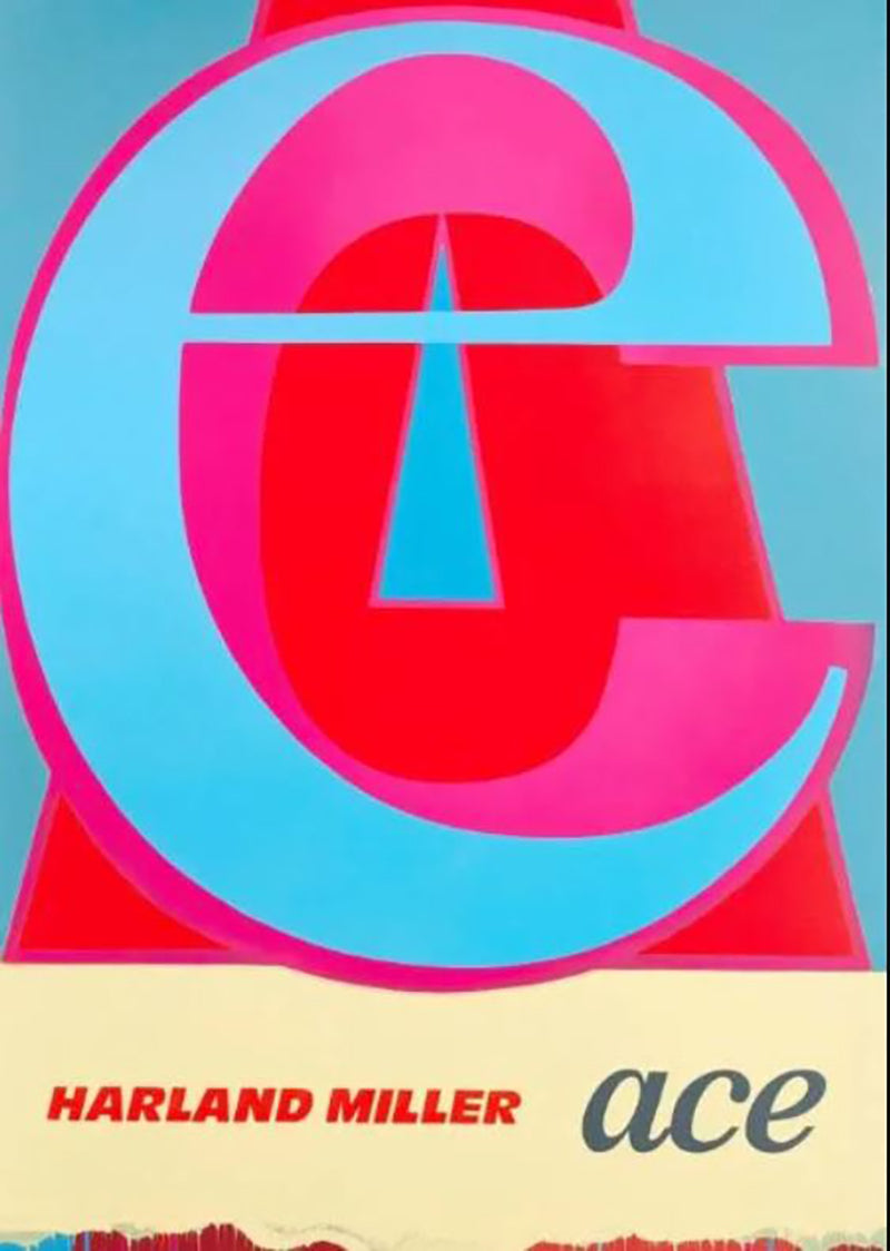 Ace 2019 woodcut edition of 50 Harland Miller