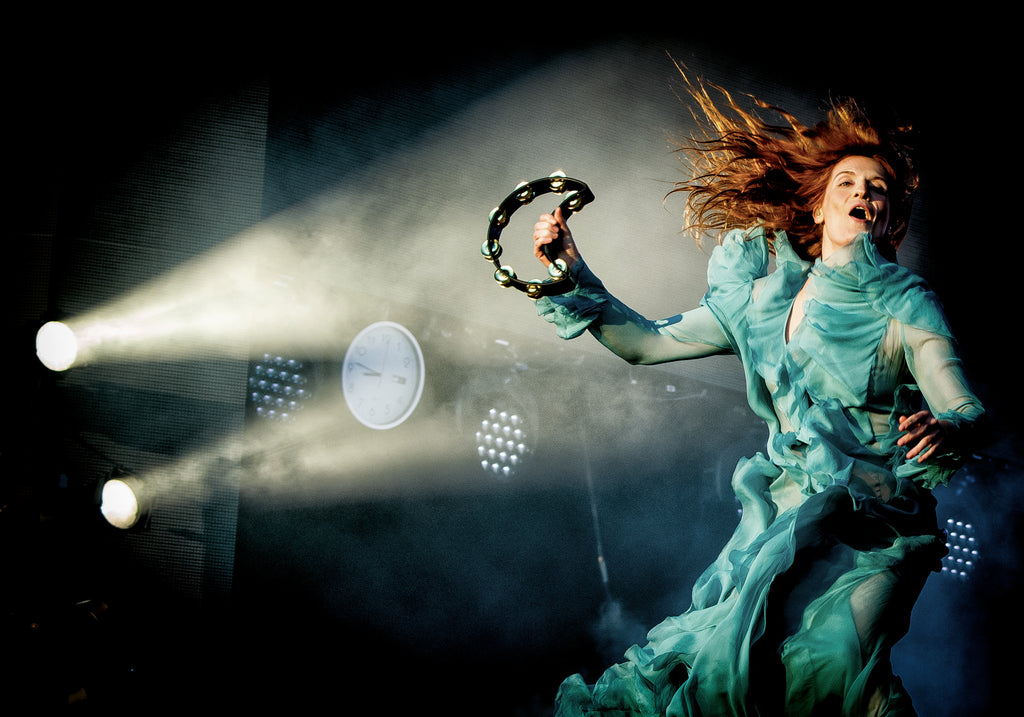 Florence Full Flow 'Rock and Sensibility' exhibition signed award winning
