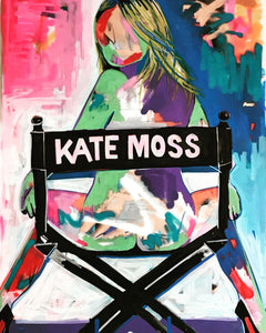 Kate Moss Original, Kate Moss, Signed Excellent Art  Reviews