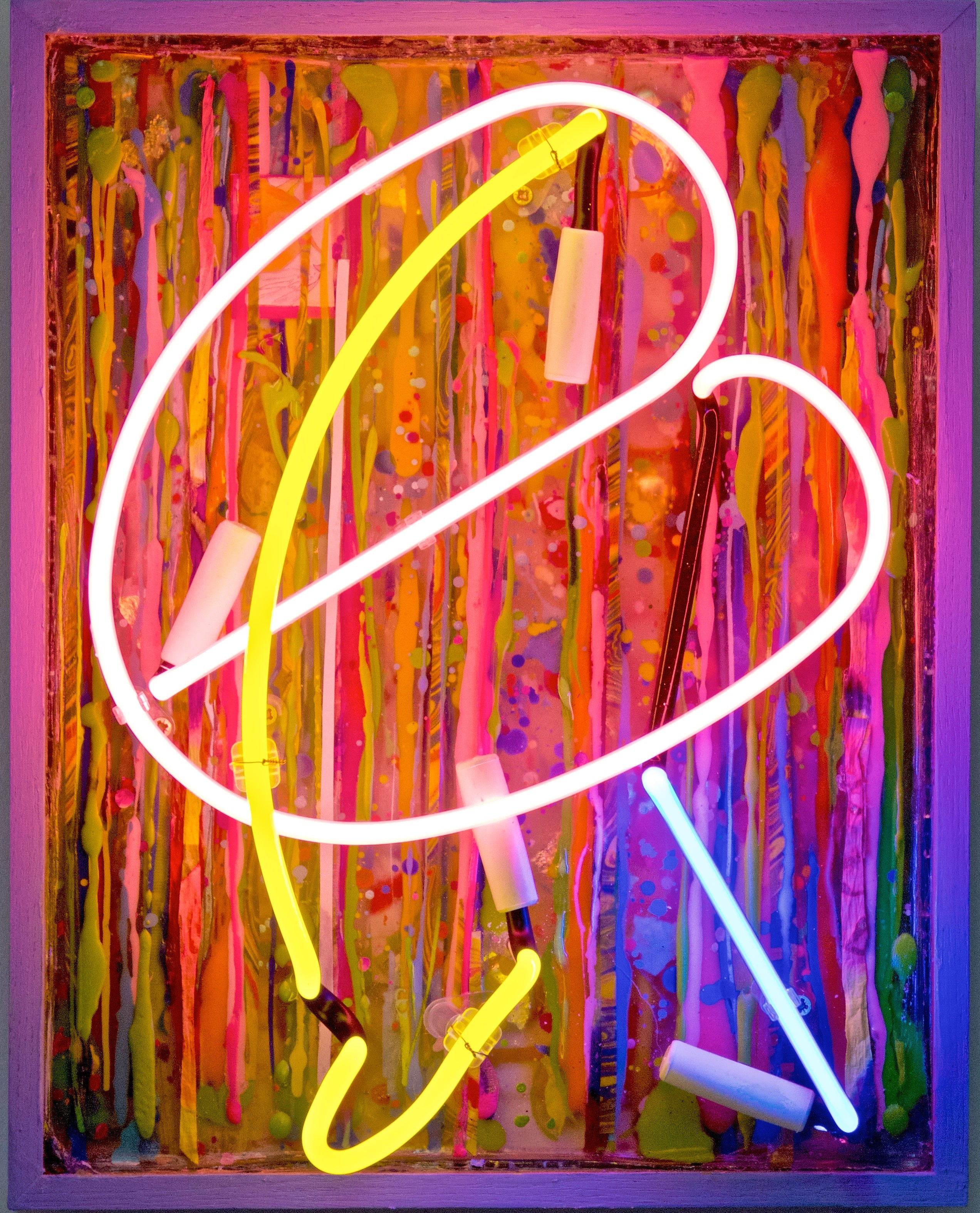 Pink Bean original neon vibrant vintage board great reviews