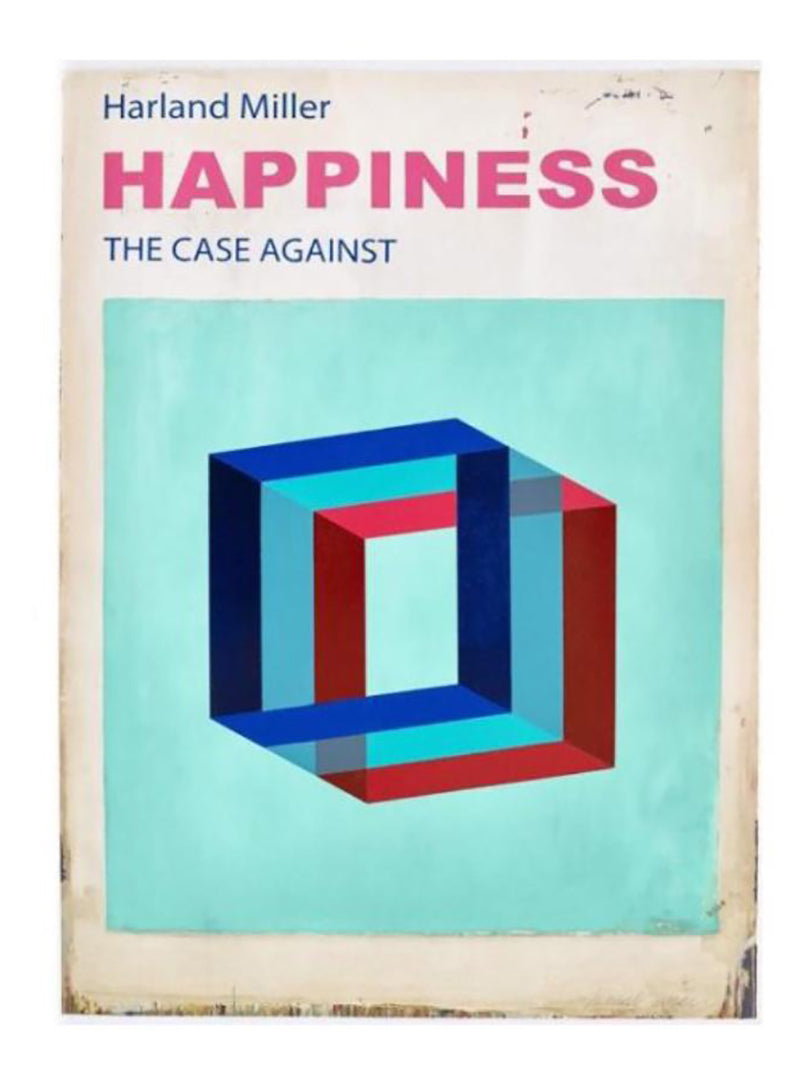 Happiness, The Case Against  2017 etching and lino cut edition of 50