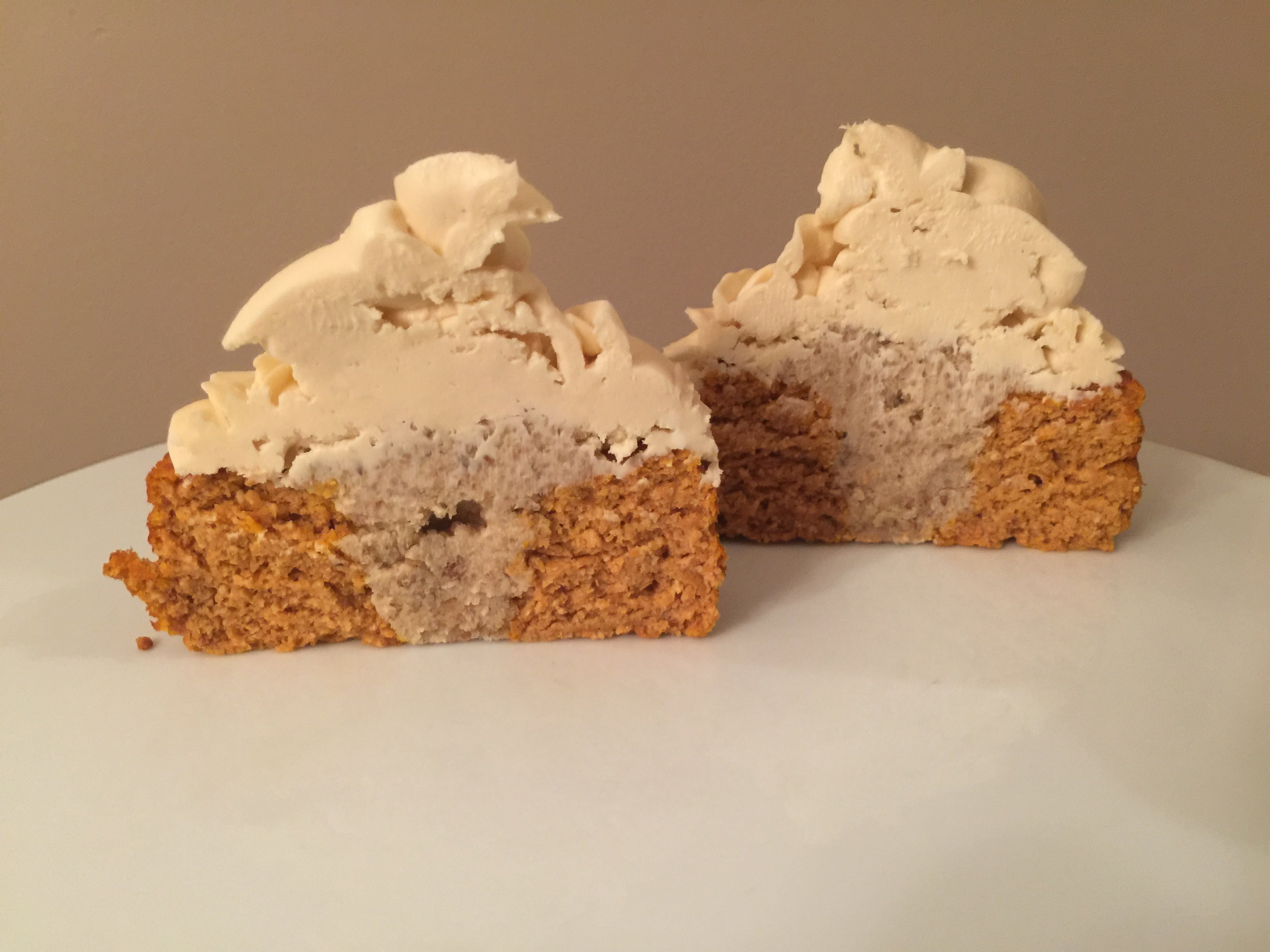 """Pumpkin Protein Walnut-Stuffed Cheesecake Bunt Cakes""-Lower Carb-No Sugar Added*"
