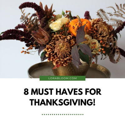 8 Must Haves for Thanksgiving!