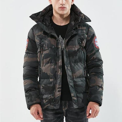 Air Force Winter Jacket - Mugen Soul Urban Streetwear Hip Hop Clothing Brand