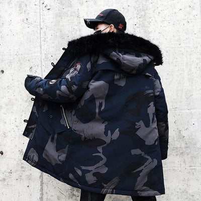 Air Force Winter Parka - Mugen Soul Urban Streetwear Hip Hop Clothing Brand
