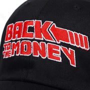 Back To The Money Dad Hat MugenSoul Streetwear Brands Streetwear Clothing  Techwear