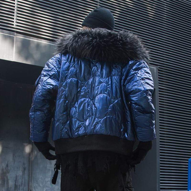 Cali Winter Coat MugenSoul Streetwear Brands Streetwear Clothing  Techwear