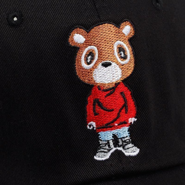Chill Bear Dad Hat - Mugen Soul Urban Streetwear Hip Hop Clothing Brand