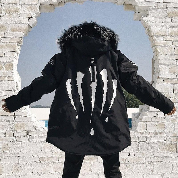 Claw Winter Parka - Mugen Soul Urban Streetwear Hip Hop Clothing Brand