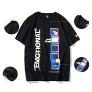Emotional T-Shirt MugenSoul Streetwear Brands Streetwear Clothing  Techwear