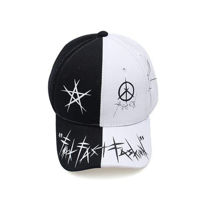 Graffiti Hat MugenSoul Streetwear Brands Streetwear Clothing  Techwear