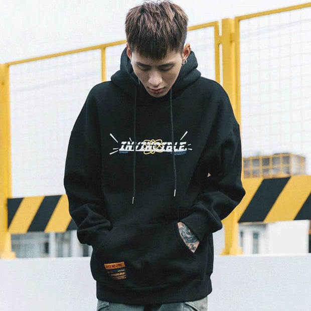 Invincible Hoodie MugenSoul Streetwear Brands Streetwear Clothing  Techwear