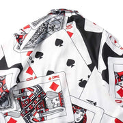 King of Cards Shirt MugenSoul Streetwear Brands Streetwear Clothing  Techwear