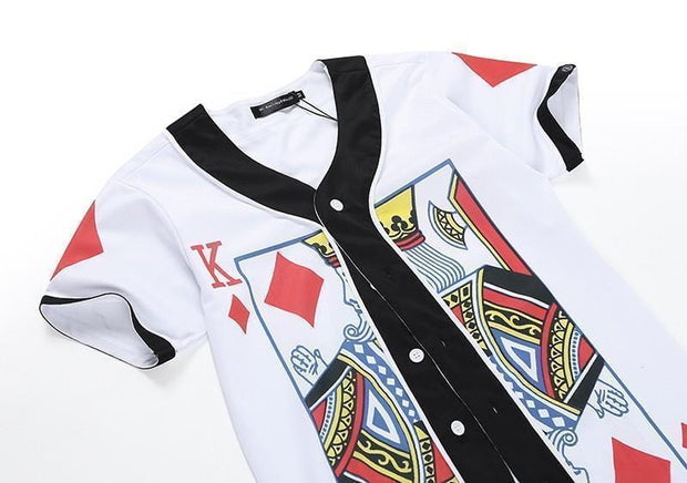 King of Diamonds Jersey MugenSoul Streetwear Brands Streetwear Clothing  Techwear