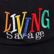Living Savage Dad Hat MugenSoul Streetwear Brands Streetwear Clothing  Techwear