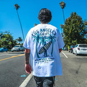 Long Beach T-Shirt MugenSoul Streetwear Brands Streetwear Clothing  Techwear