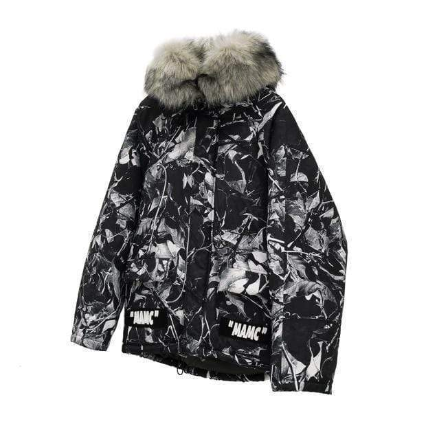 MAMC Winter Parka MugenSoul Streetwear Brands Streetwear Clothing  Techwear
